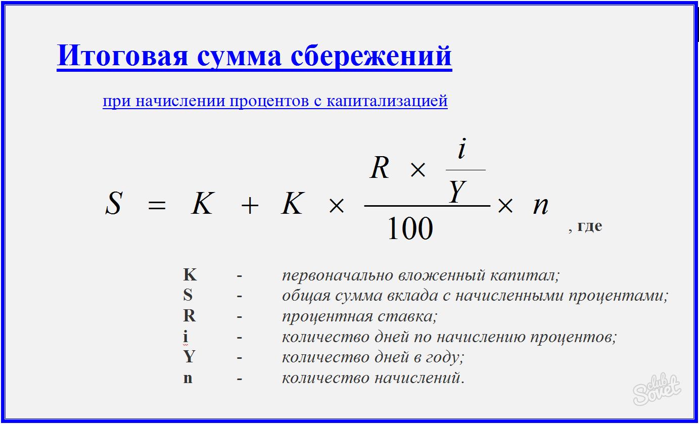 Расчетов по схеме простых и сложных процентов7