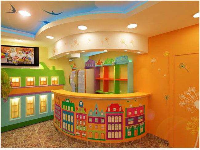 Интерьеры для детских центров
