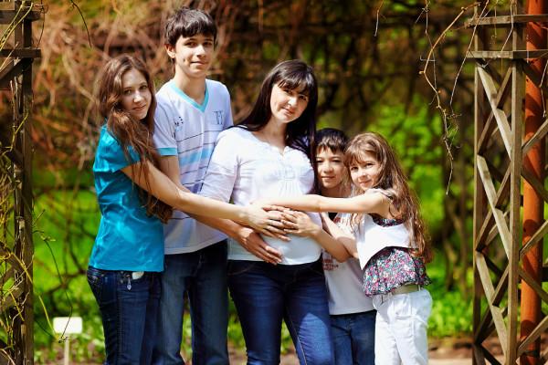 Многодетным семьям положены субсидии