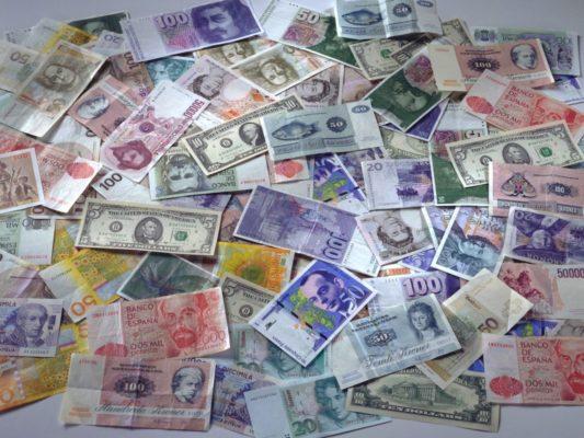 Изменение валюты