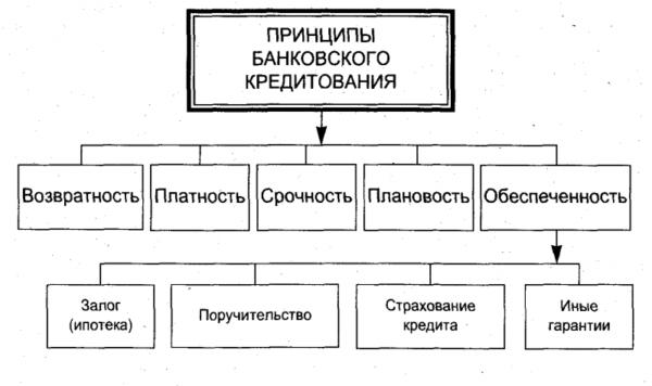 Принципы банковского кредита