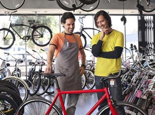 Покупка велосипедов