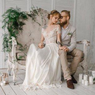 Свадебные фото в студии