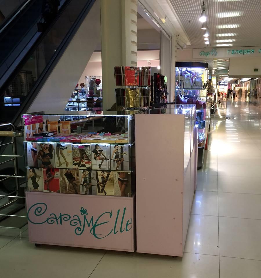 Открытие в торговом центре